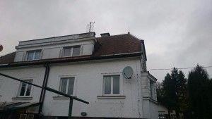 eternitova strecha PRED rekonstrukci