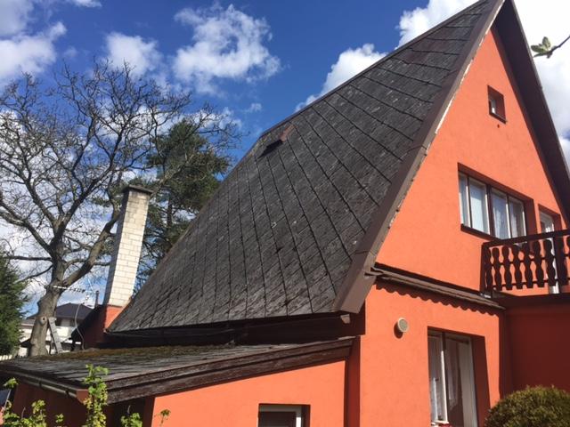 rekonstrukce střechy, eternit, šindel, Cambridge Xpress, lehká střešní krytina, rychle, snadno a levně