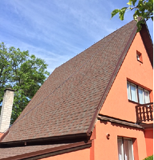rekonstrukce střechy, šindel, Cambridge Xpress 54, lehká střešní krytina, rychle, snadno a levně