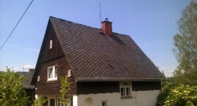 rekonstrukce střechy, původní střecha, eternit, šindele Cambridge Xpress, rychle, snadno a levně