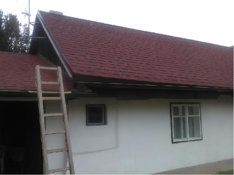 rekonstrukce střechy, šindel, Cambridge Xpress 55, lehká střešní krytina, rychle, snadno a levně