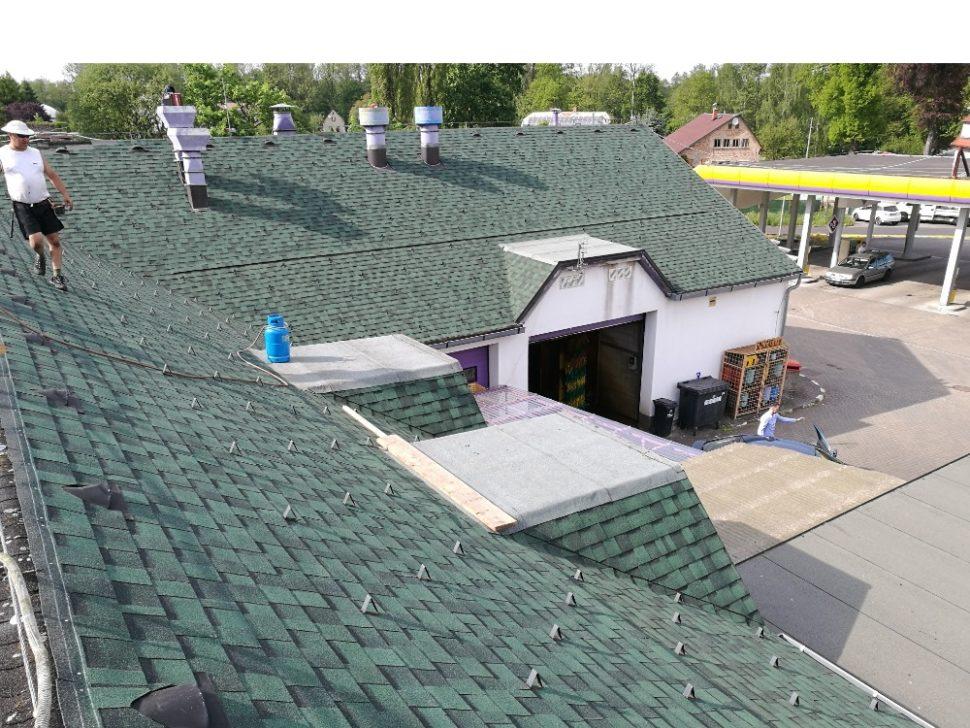 rekonstrukce střechy, šindel, Cambridge Xpress 48, lehká střešní krytina, rychle, snadno a levně