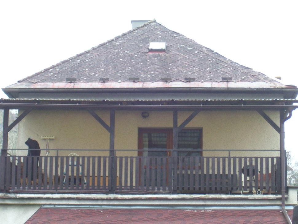 eternitová střecha