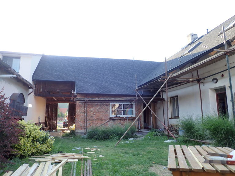 rekonstruovaná střecha sIKO Cambridge dual-black