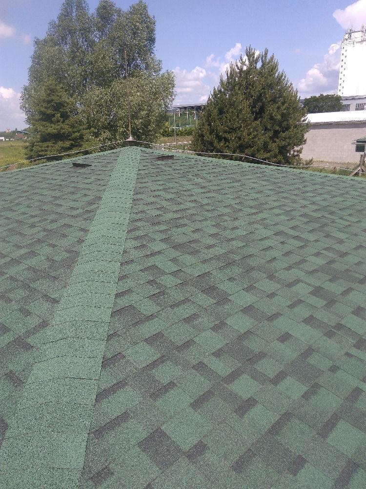IKO Cambridge amazon green detail strechy