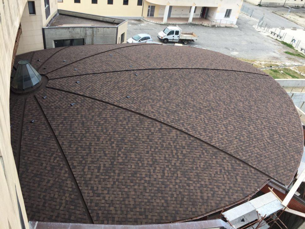 IKO Cambridge dual brown kuzelovita strecha