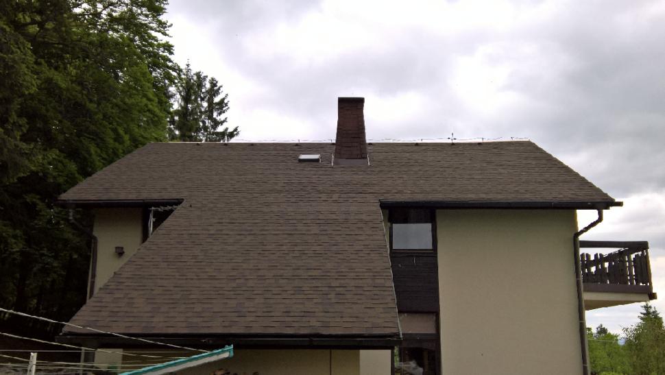 IKO Cambridge dual brown strecha POrekonstrukci